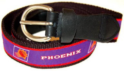 The Mark Adult Canvas Material NBA Phoenix Suns Belt w/Buckle Closure