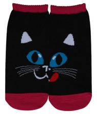 Reflection The Black Cat Ankle 2 Set ( 4 piece ) Socks