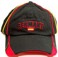 World Cup Germany Vintage Adjustable Buckle Soccer Cap-W/ Jersey detail
