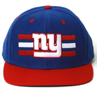 NFL New York Giants Reebok Billboard Flat Bill Structured Snapback Hat
