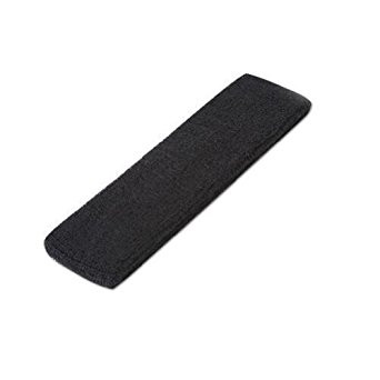 DCI Single Sports Headband 100% Terry Cloth