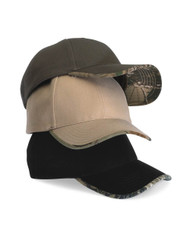 Kati - Solid Cap with Camouflage Bill