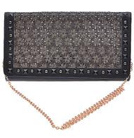 Womens Designer Floral Pattern Clutch Bag