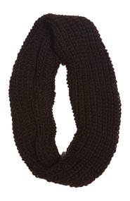 Figure 8 Infinity Loop Knitted Scarf