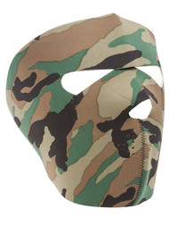 Neoprene Full Face Mask (2 PACK), Camo