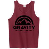 Mens Gravity Outdoor Co. Ultra Cotton Tank Top