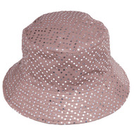 Womens Fashion Sequined Bucket Hat