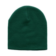 Knitted Cap Cuffless Beanie