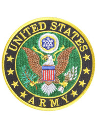 United States Army Seal Emblem Retired Patch
