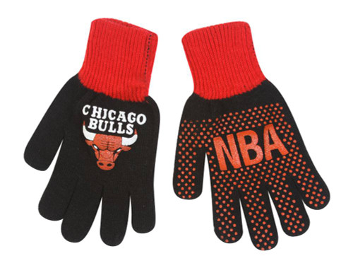 Chicago Bulls Boys Gloves