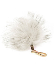 CC Fox Faux Fur Cell Phone Purse Key Chain