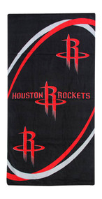 Houston Rockets Black/Red Beach Towel