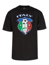 World Cup National Team Emblems Black T-Shirt