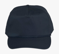Cotton Twill Golf Cap - Navy