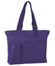 UltraClub Recycled Polyester Super Feature Tote