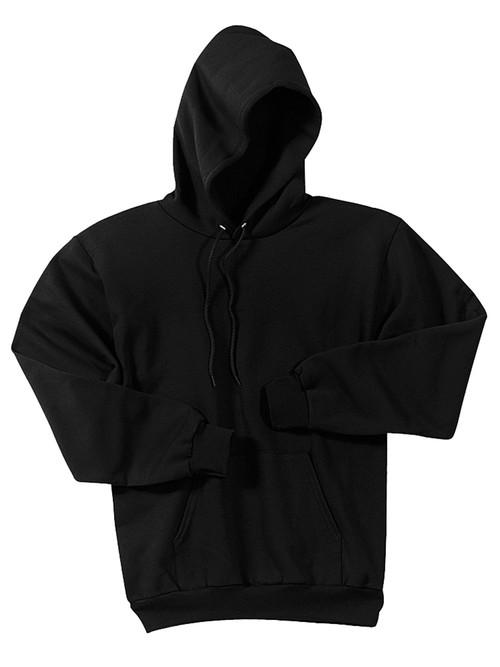Basic Black Pullover Sweater Hoody