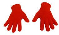 Pro Gloves Magic Polyester Winter Wear It's Cozy Gloves, Red