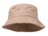 Youth Pigment Dyed Bucket Hat-Khaki
