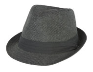 The Hatter Co. Tweed Classic Cuban Style Fedora Fashion Cap Hat