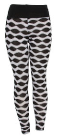 Mod Waveforms Ladies Leggings Shear Tights