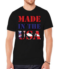 Mens Made in USA Short-Sleeve T-Shirts