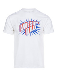 Mens Awesome Dad Short-Sleeve T-Shirt