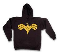Officially Licensed Wonder Woman Symbol Hoodie