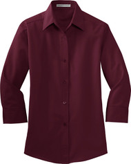 Port Authority Women's 3/4-Sleeve Easy Care Shirt. L612