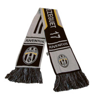 Juventus Authentic Design Scarf - Black/White