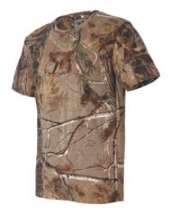 Code V Mens RealTree AP/APG Camouflage Short Sleeve T-Shirt