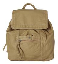 """""""Didier"""" Multipocket Soft Hipster Rucksack Backpack"""