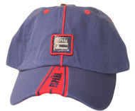 National Espana Spain Steel Logo Hat Cap , Navy Blue