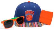 New York Knicks GT Beat the Heat Kit (Snapback + Wristband + Shades)