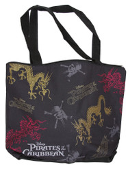 Disney Pirates of the Caribbean Shiney Dragon Tote Bag