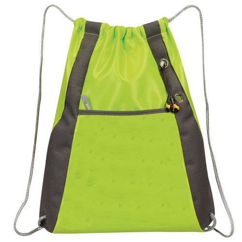 'Elite'' Drawstring Pack - Apple Green