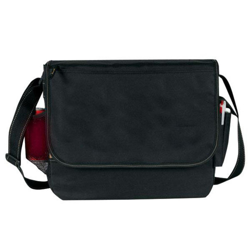 All-Purpose Messenger Bag, Black Taupe