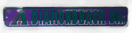 Arizona Diamondbacks Dr. MLB Street Sign, Purple Teal