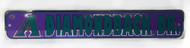 Arizona Diamondbacks Dr. MLB Street Sign, Purple Teal