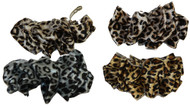 Cheetah Print Hair Clip Combo Pack