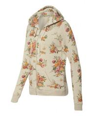 Ladies' Eco-Fleece Adrian Full-Zip Hooded Sweatshirt