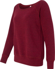 Bella - Ladies' Triblend Wideneck Sweatshirt