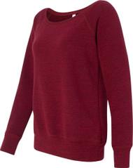 Bella - Ladies' Triblend Wideneck Sweatshirt