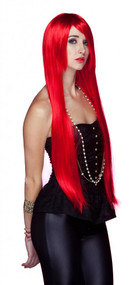 Elegante Womens Fate Firecracker Red Wig