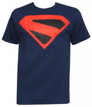 Officially Licensed DC Comics Kingdome Come Superman Man of Steel Logo T-Shirt