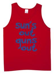 Sun's Out Guns Out Beach Tank Top