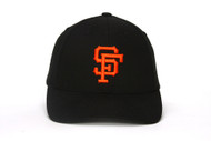 San Francisco Giants Mlb Pre Shape Adjustable Strap Black New Adult