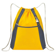 'Elite'' Drawstring Pack - Yellow