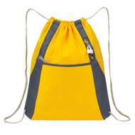 'Elite'' Drawstring Pack - Yellow