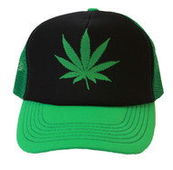 Marijuana Hollywood Trucker Mesh Hat