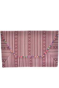 Womens Designer Aztec Pattern Printed Clutch Bag